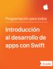 Apple Education - Introducción al desarrollo de apps con Swift ilustración