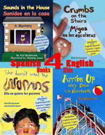 4 Spanish-English Books for Kids: Cuatro libros bilingües para niños