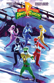 Mighty Morphin Power Rangers Vol. 2 TP book