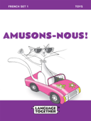 French for Kids: Toys (Read-Along) Beginner Reader