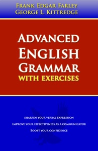 Advanced English Grammar Book Cover
