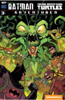 Matthew K. Manning & Jon Sommariva - Batman/Teenage Mutant Ninja Turtles Adventures #3 artwork