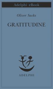 Gratitudine Copertina del libro