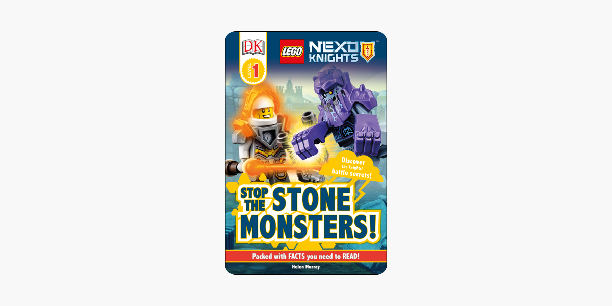 ‎DK Readers L1: LEGO NEXO KNIGHTS Stop the Stone Monsters!