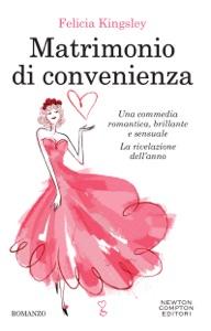 Matrimonio di convenienza di Felicia Kingsley Copertina del libro