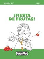 Spanish Fruits Read Aloud Book: Spanish Set One