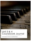 Year 12 Music Style  Composition Coursework Journal