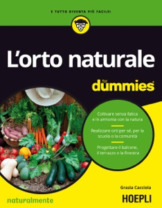 L'orto naturale for dummies Book Cover