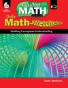 Daily Math Stretches Building Conceptual Understanding Levels K-2