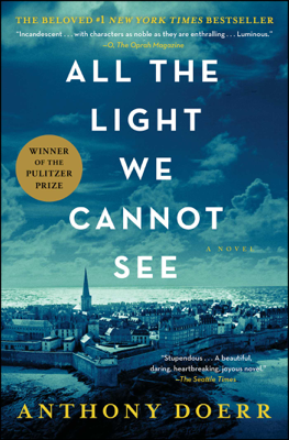All the Light We Cannot See - Anthony Doerr book