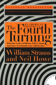 The Fourth Turning von William Strauss & Neil Howe Buch-Cover