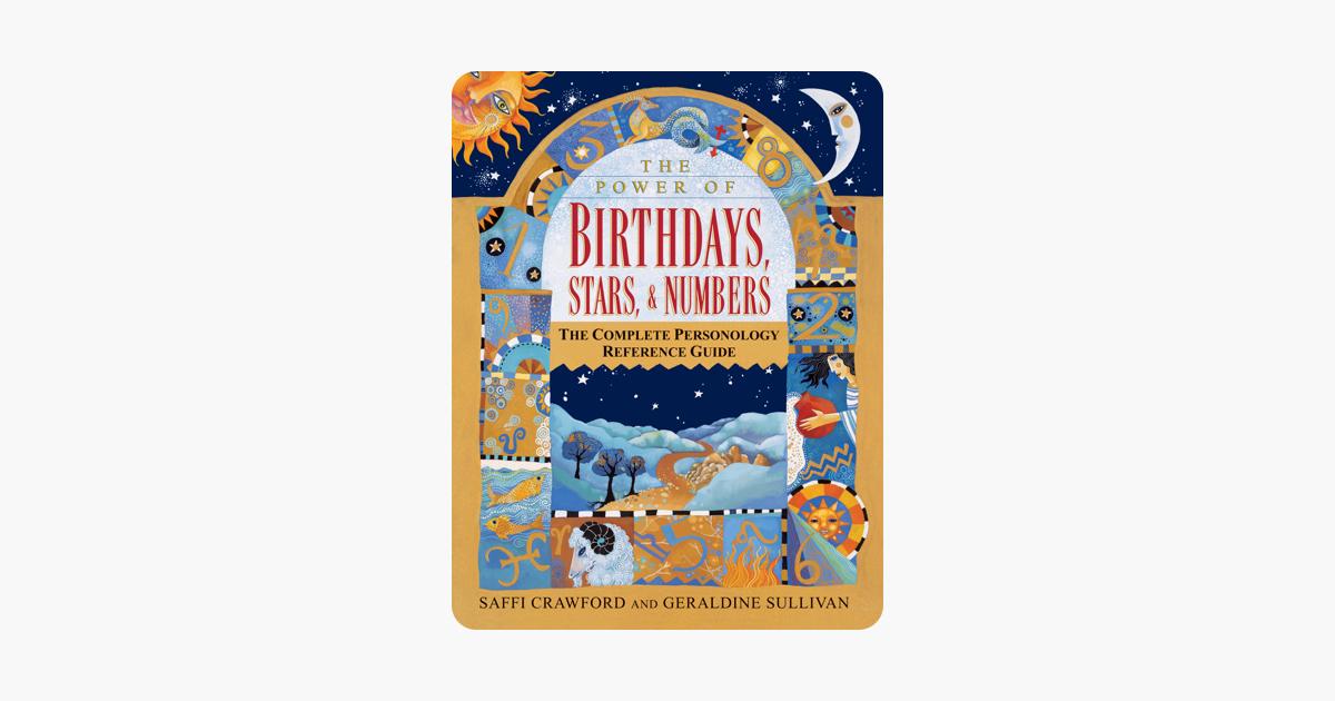 The Power of Birthdays, Stars & Numbers - Saffi Crawford & Geraldine Sullivan
