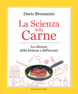 La scienza della carne Libro Cover
