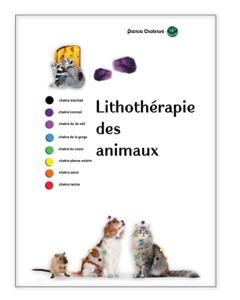 Lithothérapie des animaux Couverture de livre