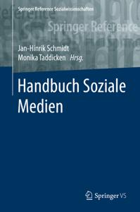 Handbuch Soziale Medien Buch-Cover