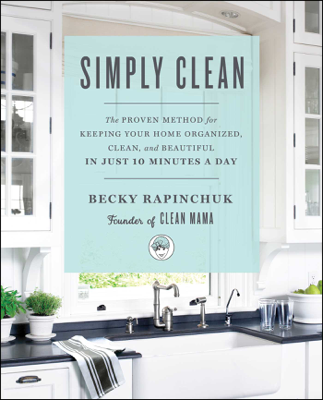 Simply Clean - Becky Rapinchuk book