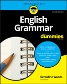 Download and Read Online English Grammar For Dummies