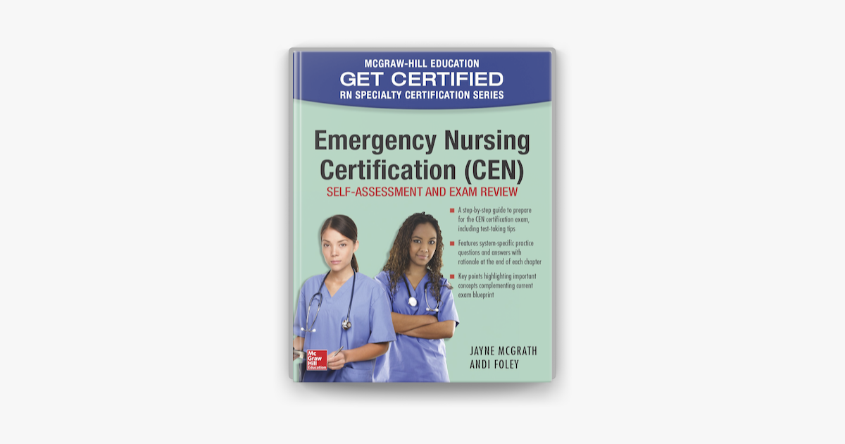 cen certification emergency nursing apple books