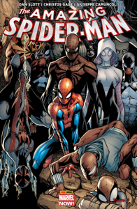 The Amazing Spider-Man Marvel Now T01 La couverture du livre martien