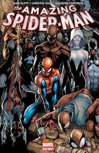 The Amazing Spider-Man Marvel Now T01 La couverture du livre martien