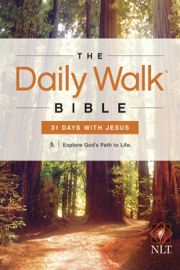 The Daily Walk Bible NLT: 31 Days with Jesus book