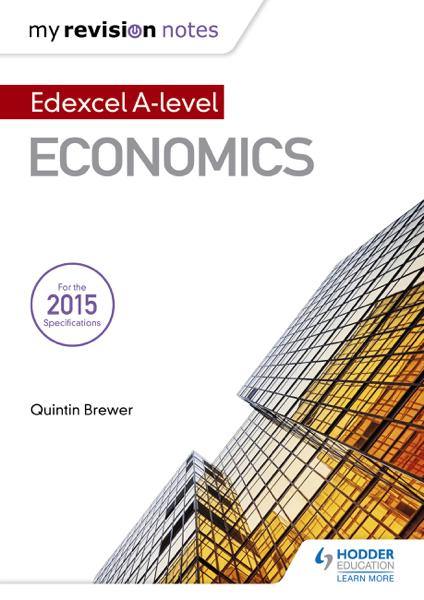 My Revision Notes: Edexcel Level Economics