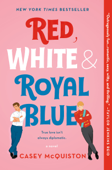 Red, White & Royal Blue Book Cover