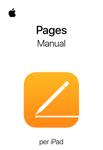 Manual d'usuari del Pages per a l'iPad