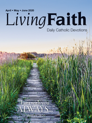 Living Faith April, May, June 2020 - Terence Hegarty