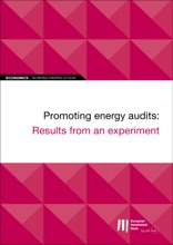 EIB Working Papers 2019/06 - Promoting Energy Audits: Results From An Experiment