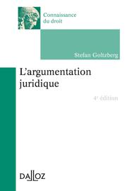L'argumentation juridique - 4e éd.