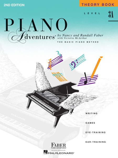 Piano Adventures : Level 3A - Theory Book by Nancy Faber & Randall Faber