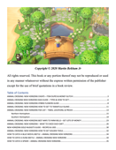 ANIMAL CROSSING NEW HORIZONS A-Z WALKTHROUGH, STRATEGIES, GAME GUIDE & TIPS, CHEATS & TRICKSC, ITEM - You need to know