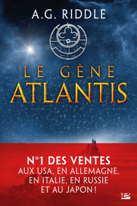 Le Gène Atlantis La couverture du livre martien