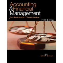 Accounting & Financial Management for Residential Construction