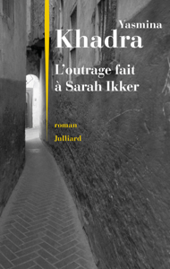 L'outrage fait à Sarah Ikker La couverture du livre martien