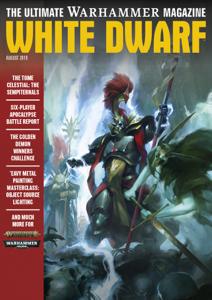 White Dwarf August 2019 La couverture du livre martien
