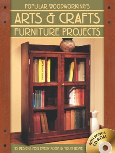 Popular Woodworking's Arts & Crafts Furniture Book Cover