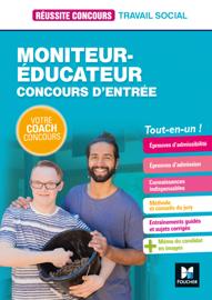 Réussite Concours - Moniteur-éducateur - Concours d'entrée - Catégorie B - Préparation complète