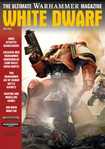 White Dwarf July 2019 Book Cover