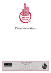 Download and Read Online Kleine blonde Grete