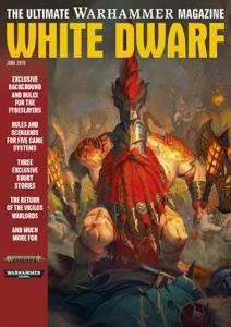 White Dwarf June 2019 Cover Book