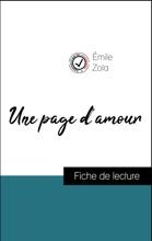 Analyse De L'œuvre : Une Page D'amour (résumé Et Fiche De Lecture Plébiscités Par Les Enseignants Sur Fichedelecture.fr)