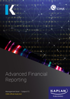 Kaplan Publishing UK - CIMA - F2 Advanced Financial Reporting artwork