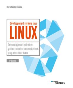 Développement système sous Linux Couverture de livre