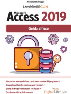 Lavorare con Microsoft Access 2019 Copertina del libro