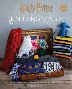 Harry Potter: Knitting Magic Book Cover