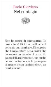 Nel contagio di Paolo Giordano Copertina del libro