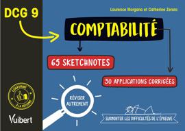 DCG 9. Comptabilité en 65 sketchnotes et 30 applications corrigées