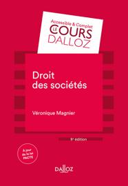 Droit des sociétés - 9e éd.